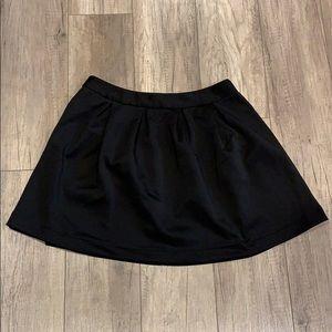 Black Tobi Skater Skirt